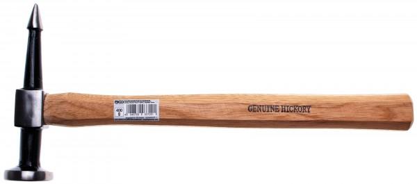 BGS 1672-1 Karosseriehammer, runder, flacher Kopf / spitze, kegelige Finne