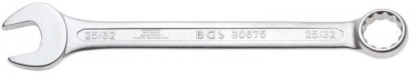 """BGS 30675 Maulringschlüssel,kalt geschmiedet, 25/32"""""""