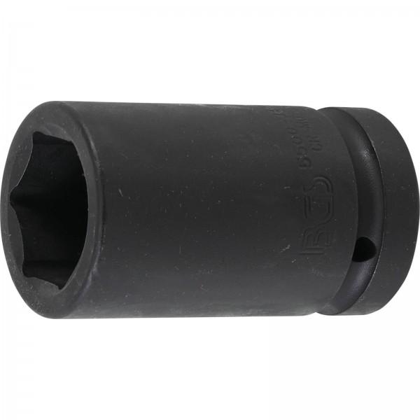 """BGS 5500-34 Kraft-Steckschlüssel-Einsatz Sechskant, tief 25 mm (1"""") SW 34 mm"""