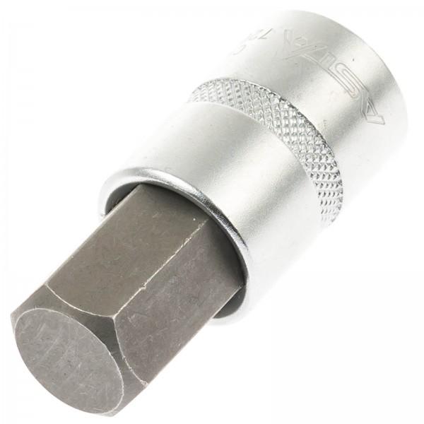 """Asta 720419 Innensechskant Steckschlüssel HW 19 mm, 1/2"""" Antrieb"""