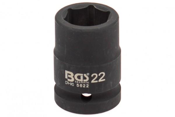 """BGS 5622 Schlagschrauber Nuss 3/4"""" SW 22 mm"""