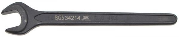 BGS 34214 Einmaulschlüssel, 14 mm