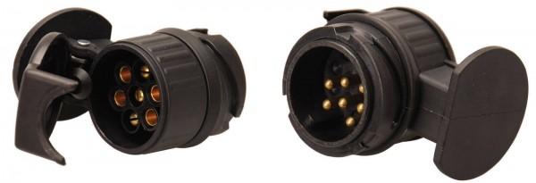 BGS 80754 Adapter für Anhängerstecker, 13-auf-7 Pol