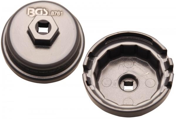 BGS 8761 Ölfilterkappe für Toyota / Lexus, 64,5 x 14-kant