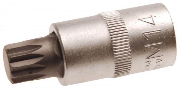 BGS 4344 Bit-Einsatz, Innenvielzahn M14 x 55 mm, 12,5(1/2)