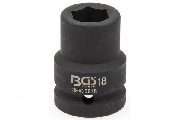 """BGS 5618 Schlagschrauber Nuss 3/4"""" SW 18 mm"""