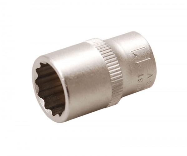 BGS 10781 Steckschlüssel-Einsatz, 6,3 (1/4), 12-kant, 11 mm