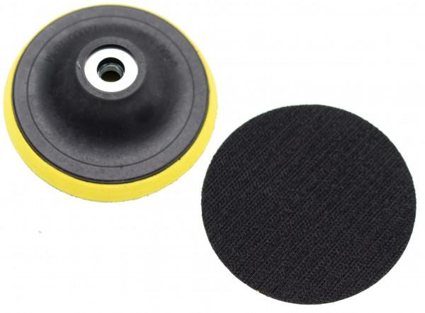 BGS 9259-3 Schleifteller mit Klettaufnahme, 100 mm, passend für BGS 9259