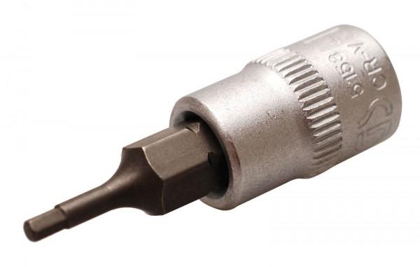BGS 5153 Bit-Einsatz 6,3 (1/4), Innen-6-kant, 2 mm