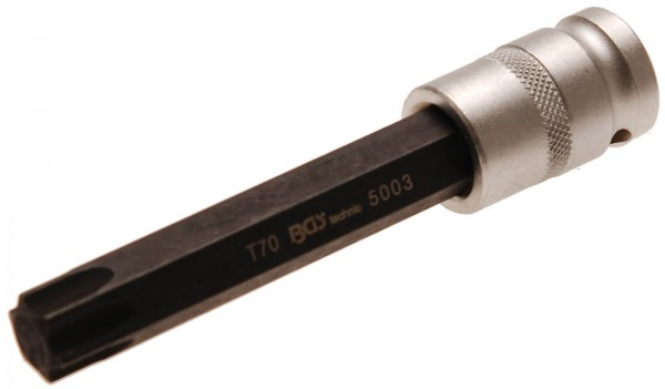 """BGS 5003 Bit-Einsatz, 1/2"""", T-Profil 70x120 mm"""