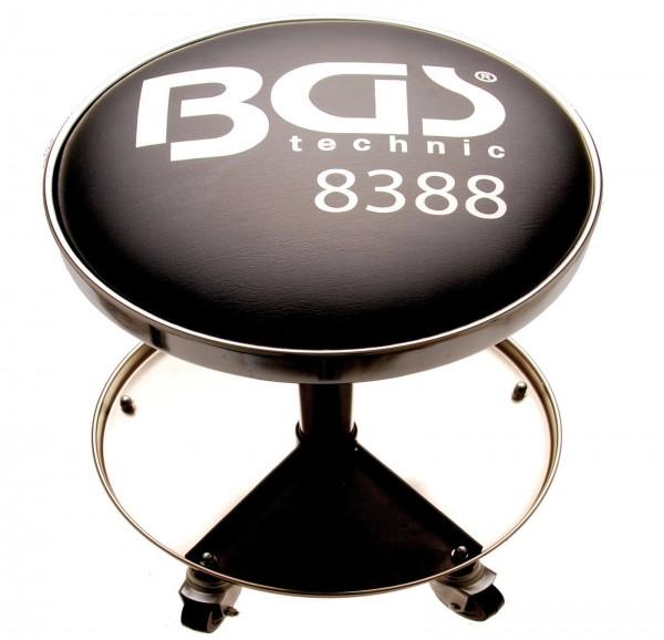 BGS 8388 Werkstatt-Arbeitssitz mit 5 Rollen