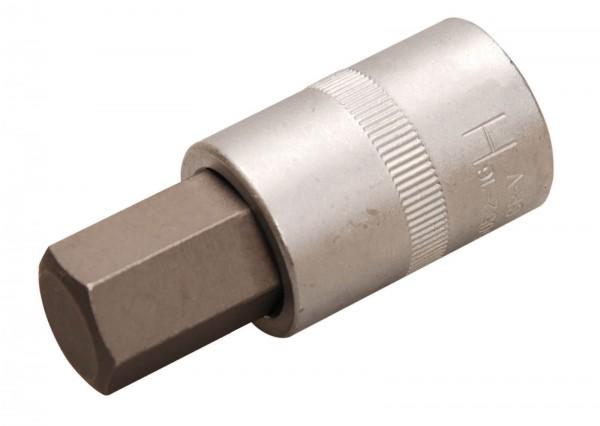 BGS 5052-18 Bit-Einsatz, Innen-6-kant, 12,5 (1/2), 18 mm