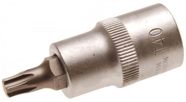 """BGS 4372 Spezial-T-Profil-Einsatz, 1/2"""", o. B., 53 mm lang, T40"""