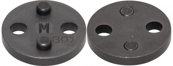 BGS 11010 Bremskolbenrückstelladapter M für Ford / BMW Mini / Nissan