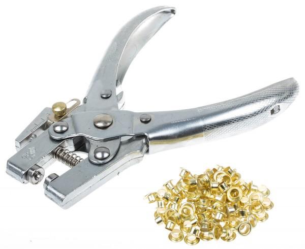 BGS 570 Ösenzange 4.5 mm mit Ösensortiment