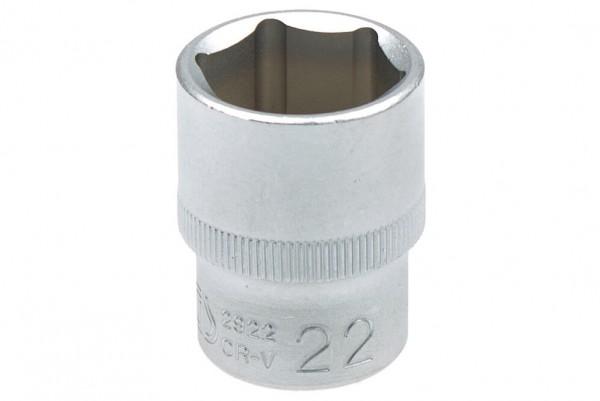 """BGS 2922 Steckschlüssel Einsatz SW 22 mm 1/2"""""""