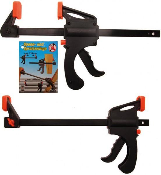 BGS 59815 Einhand Zwinge zum Spannen und Spreizen 400 mm