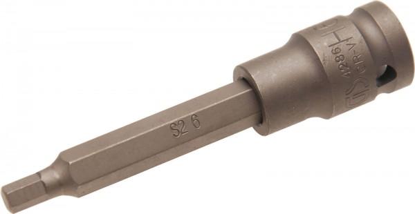 """BGS 4286 Kraft-Bit-Einsatz Innen-6-kant 6x100 mm, 1/2"""""""