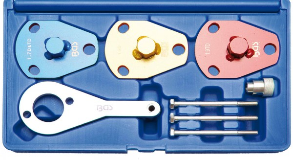 BGS 8741 Motor-Einstellwerkzeug-Satz für Fiat 1.7 und 1.9 L D / TD