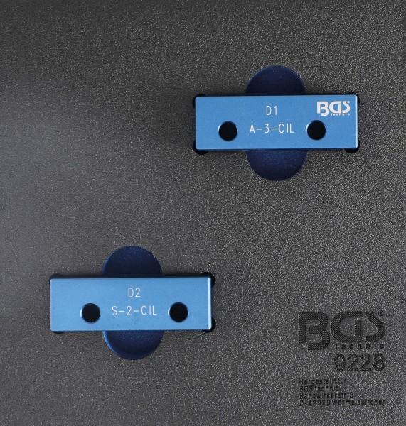 BGS 9228 Nockenwellen-Arretierwerkzeug-Satz für Lancia 2.0 VIS 4 Zylinder