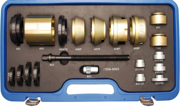 BGS 8739 Radlager-Werkzeugsatz für Peugeot / Renault / Citroen