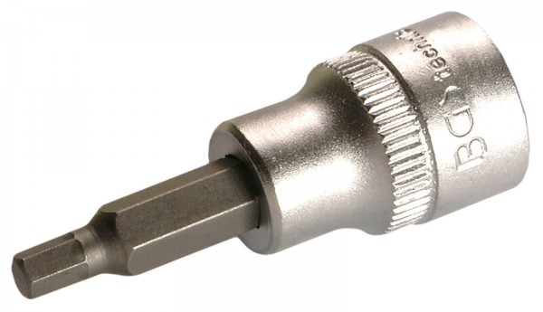 """BGS 2576 Bit-Einsatz, 3/8"""", Innen-6-kant, 3 mm"""