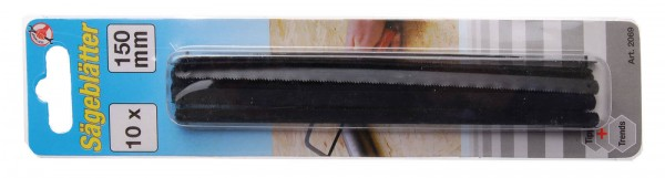 BGS 2069 10 Ersatzblätter, 150 mm