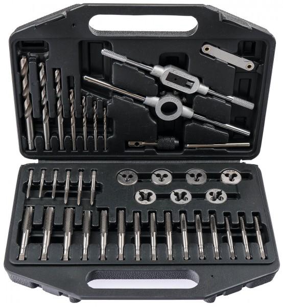 CraftMeyer 10002583 Gewindeschneidsatz Zoll Werkzeug 39-tlg.