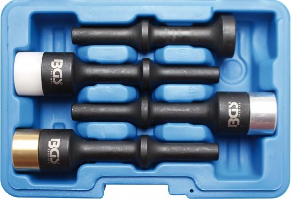BGS 9002 Schlag-Einsätze für Drucklufthämmer, 4-tlg.