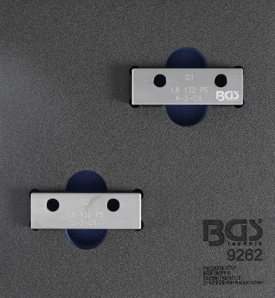BGS 9262 Nockenwellen-Arretierwerkzeug-Satz für Fiat / Lancia / Alfa Romeo 1,8L 130PS