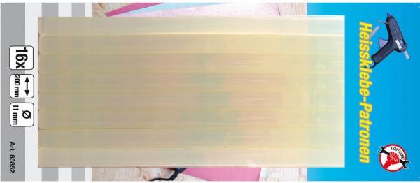 BGS 80852 Klebe-Stifte, 16 Stück, 11x200 mm