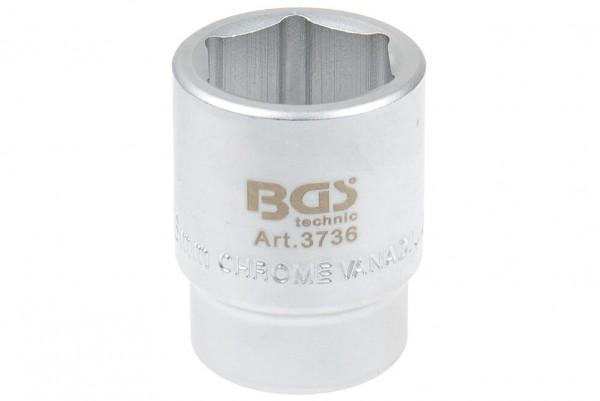 "BGS 3736 Steckschlüssel SW 36 mm 1"" Pro Torque®"