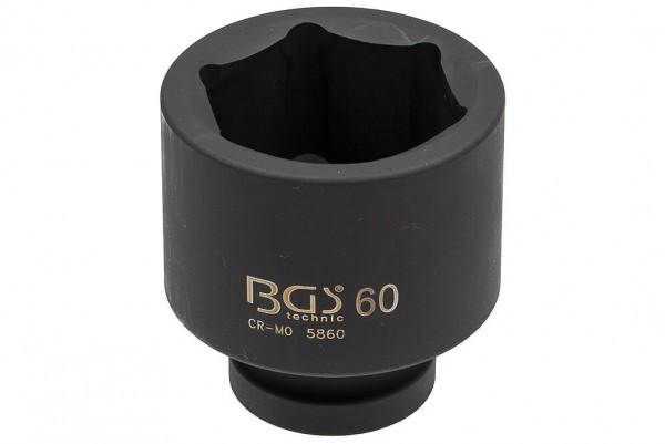 """BGS 5860 Steckschlüssel SW 60 mm 1"""" Antrieb"""