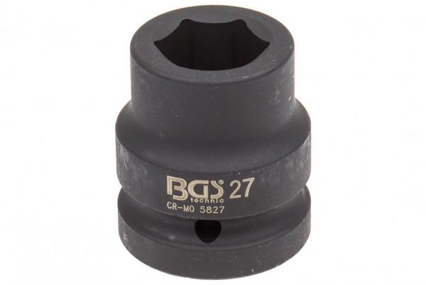 """BGS 5827 Steckschlüssel SW 27 mm 1"""" Antrieb"""