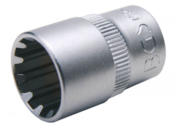 """BGS 10102 Steckschlüssel-Einsatz """"Gear Lock"""", 1/4"""", 5,5 mm"""