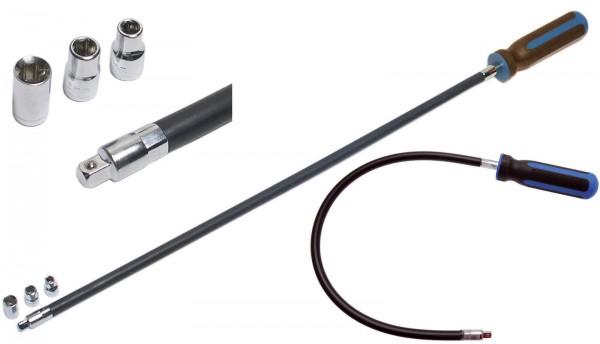 BGS 7824 Schraubendreher für Schlauchklemmen, flexibel
