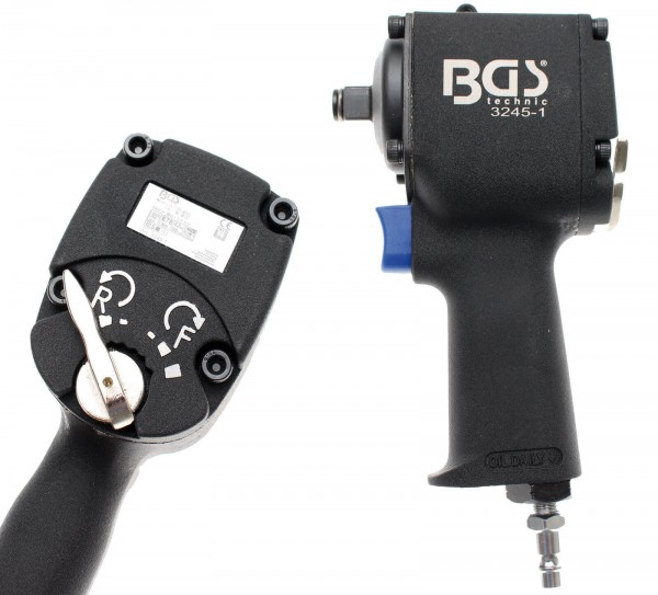 BGS 3245-1 Druckluft-Schlagschrauber, 12,5 (1/2), 750 Nm, extra kurz 98 mm