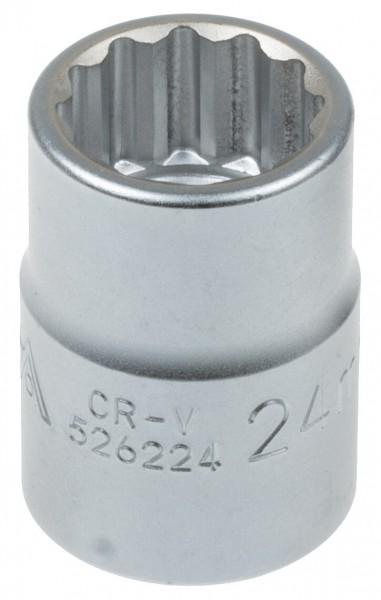 """Asta 526224 Vielzahn Steckschlüssel 3/4"""" (20 mm) SW 24 mm"""