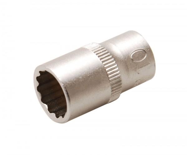 BGS 10780 Steckschlüssel-Einsatz, 6,3 (1/4), 12-kant, 10 mm