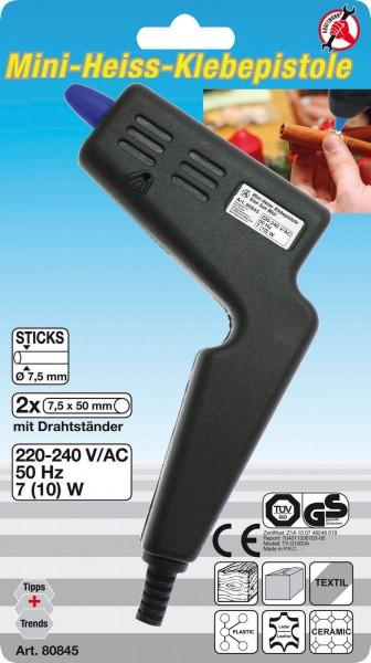 BGS 80845 Mini-Heißklebepistole für 7,5 mm Klebesticks