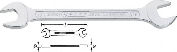 Hazet 450N-8X10 Doppel-Maulschlüssel s 8 mm s 10 mm