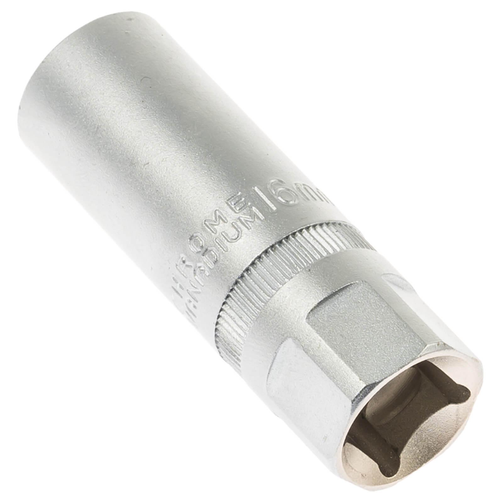 Zündkerzenschlüssel Zündkerzen Steck-Nuss Steckschlüssel lang 16mm Einsatz