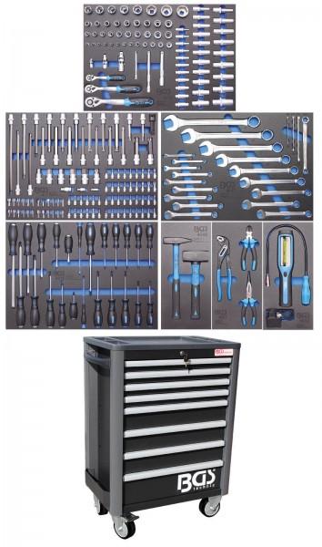 BGS 4113 Werkstattwagen Profi Standard komplett mit 234 Werkzeugen