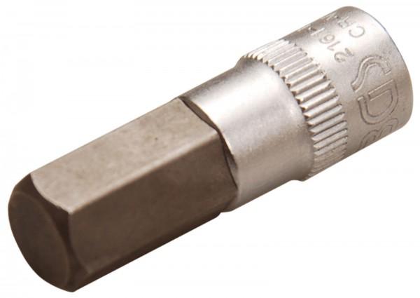 BGS 2161-10 Bit-Einsatz, Innen-6-kant, 6,3 (1/4), 10 mm