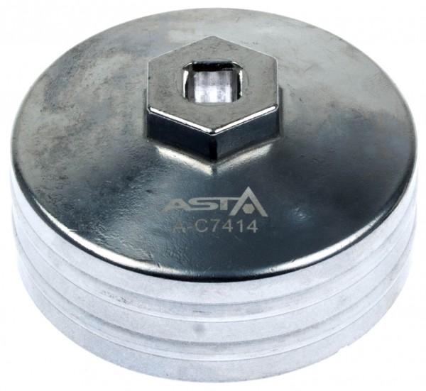 Asta A-C7414 Ölfilterkappe