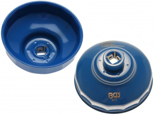 BGS 9077 Ölfilterkappe 76 mm x 15-Kant