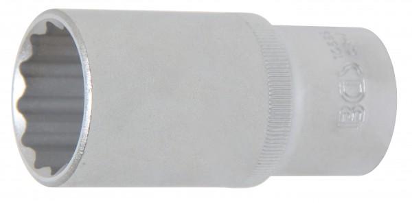 BGS 10689 Steckschlüssel-Einsatz, 12-Kant, tief, 12,5 (1/2), 28 mm
