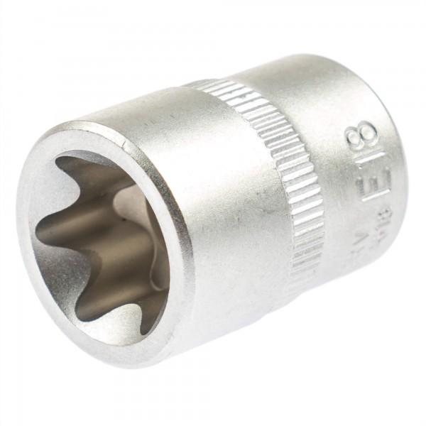 """Asta 23618 Außen Torx Steckschlüssel E18 3/8"""" (10 mm)"""