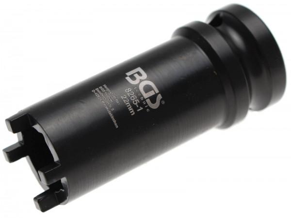 BGS 8265-1 Nutmutter-Einsatz mit Aussenzahn, 22x3.0 mm