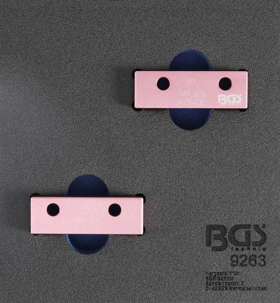 BGS 9263 Nockenwellen-Arretierwerkzeug-Satz für Fiat 2,0L 20V